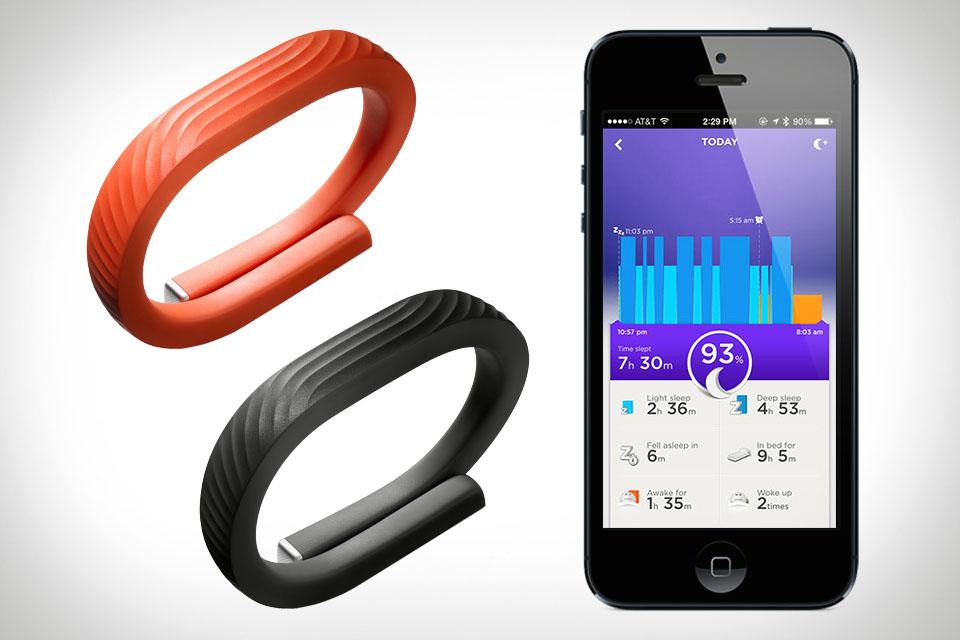 фитнес - браслет Jawbone UP, Large, большой, черный