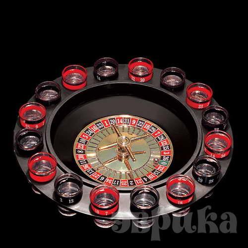 Рулетка игровой набор Эврика