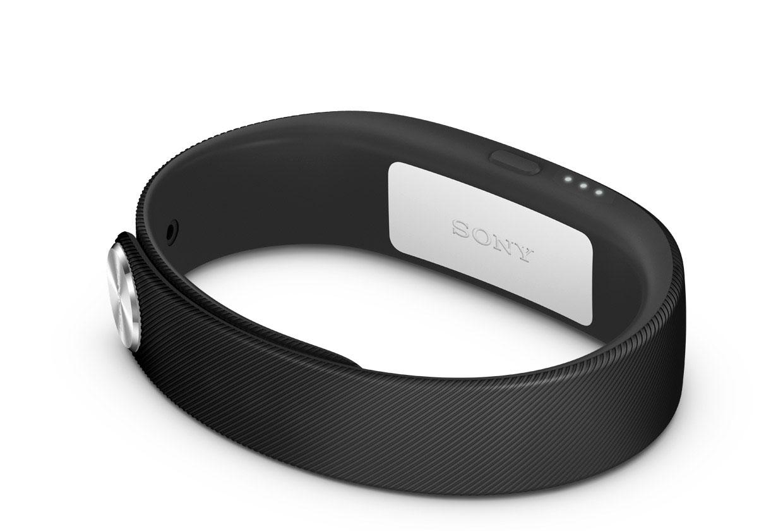 Умный браслет SONY SmartBand SWR10, чёрный Bluetooth® 4.0 с низким энергопотреблением/предназначены для устройств на базе ОС Android 4.4 и новее
