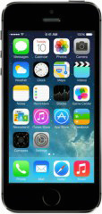 Смартфон Apple iPhone 5S 64Gb Space grey ME438RU/A, серый